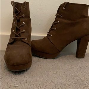 Brown Booties